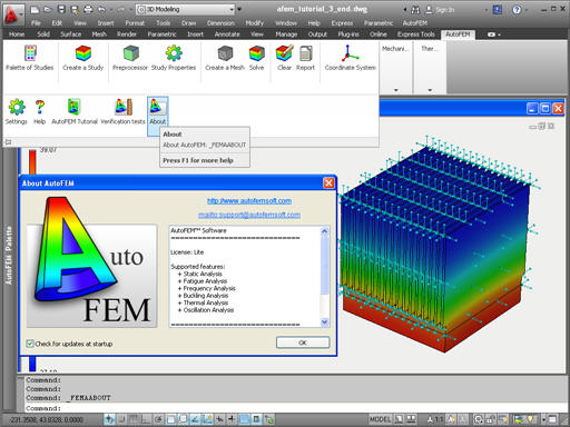 AutoFEM Analysis Lite - free finite element analysis software