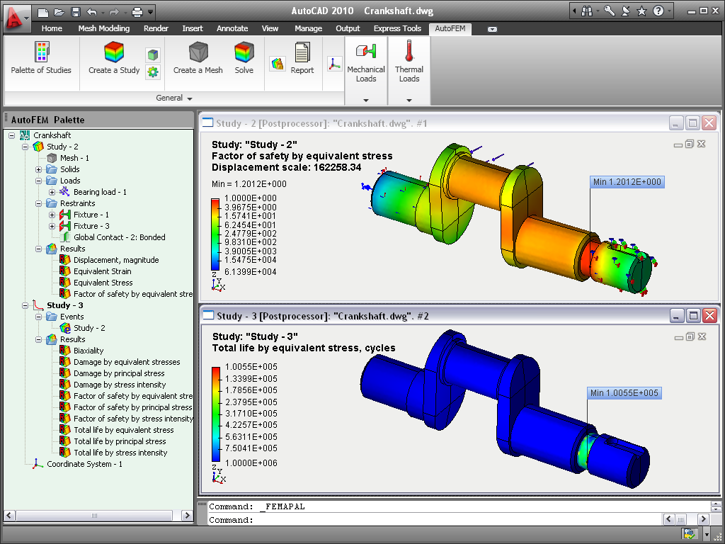 AutoFEM Analysis - Finite Element Analysis Software for
